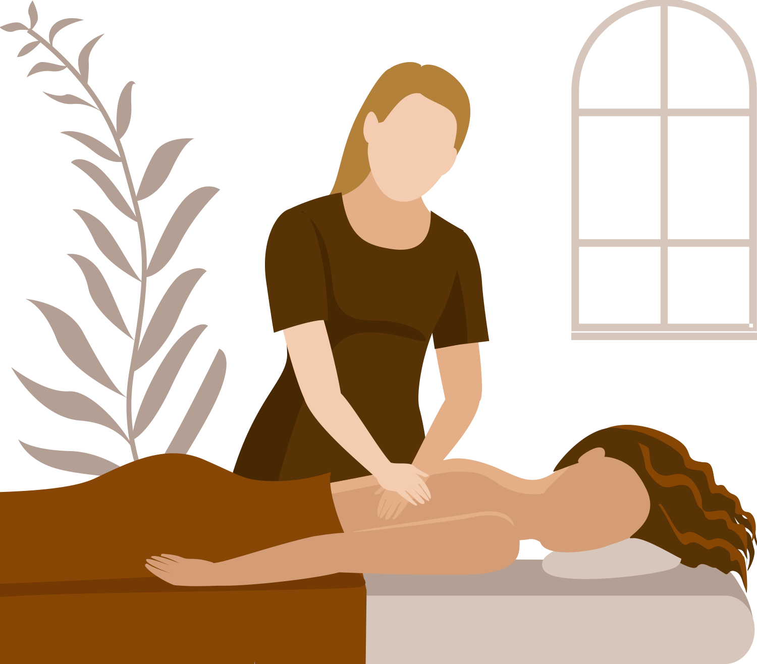 Animation af Sportsmassage