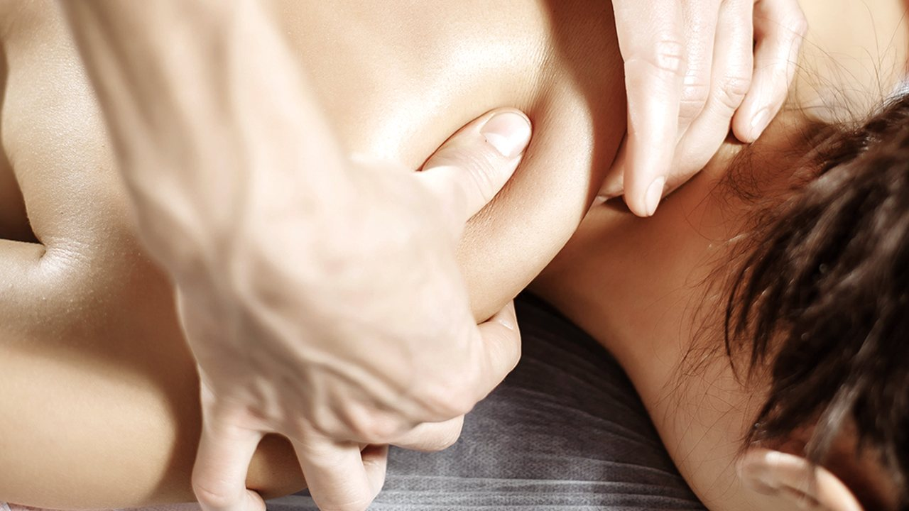 Sportsmassage nakke